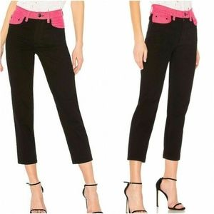 Rag and Bone  Ash Jeans Black Pink